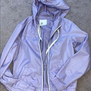 Zumiez lilac rain jacket